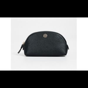 NAVY TORY BURCH MAKEUP CASE